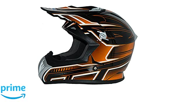 Amazon.es: Protectwear Casco de cross / Enduro naranja-negro FS603-OR Tamaño XL