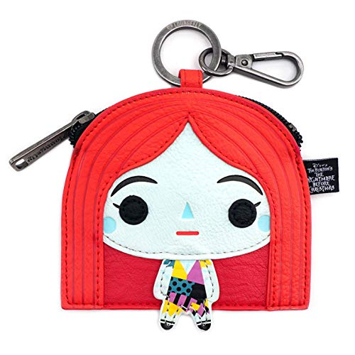 Loungefly Nightmare Before Christmas Chibi Sally Coin Bag,Multi, Adults and children 14+