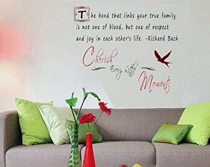 Amazon.com: Wall QUOTES INSPIRATIONAL Decal Phrases Sayings ...