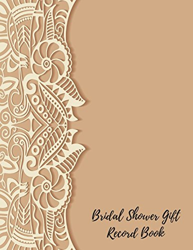 Bridal Shower Gift Record Book: Gift ()