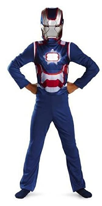 Avengers Iron Man 4 Iron Patriot Child Costume, Small (4-6X)