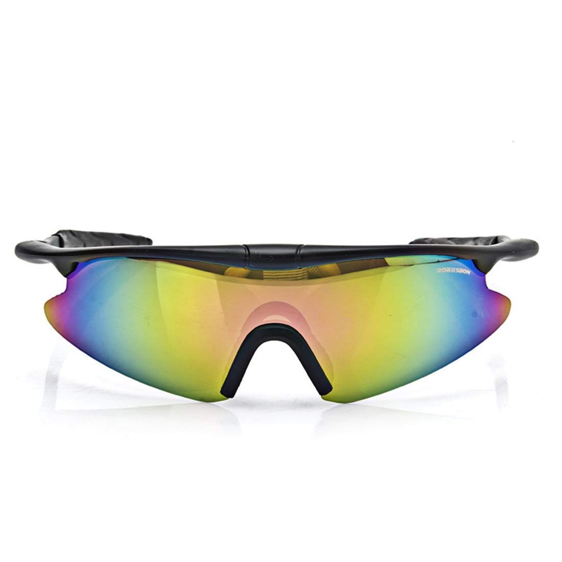 BAOYIT Riding Glasses Mountain Bike Windproof Sand Sunglasses Running Hiking Outdoor Sunglasses for Women Men (Color : Multi-Colored) by BAOYIT