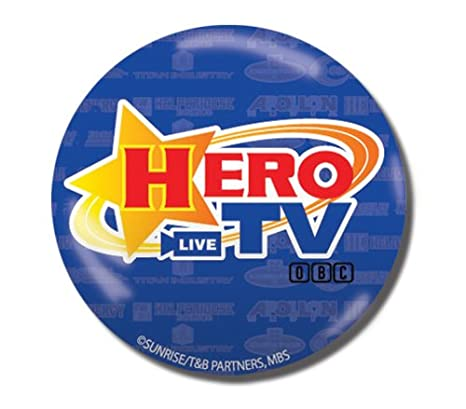 Buy Great Eastern Entertainment Tiger & Bunny Hero TV Button