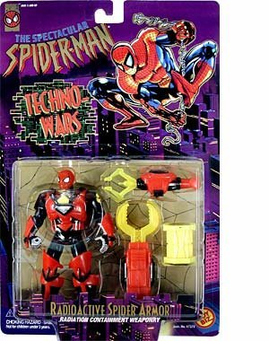 Spider-man Techno-wars: Radioactive Spider Armor Action Figure]()