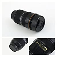 HM Zoomable Zoom Lens Cup Mug Stainless Steel 350ml 1:1 AF-S 24-70mm