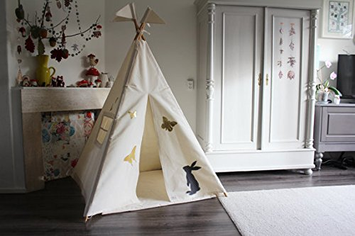 Sunshine Kids Canvas Teepee With Carry Case