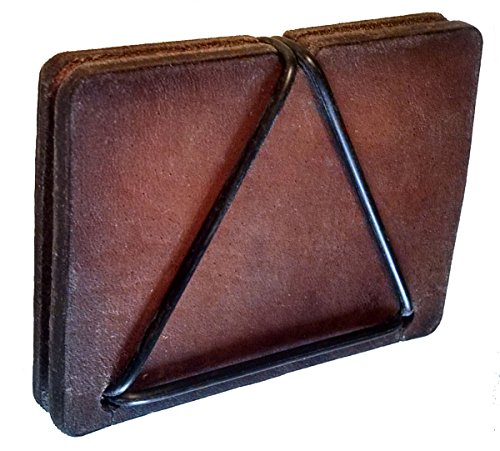Men's PLATN PLATN Men's Brown Leather Brown PLATN Leather Wallet Minimalist Minimalist Wallet Men's qSTcfW0t