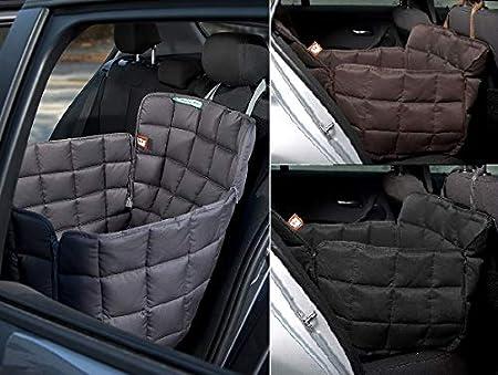 Doctor Bark 1-Sitz-Autoschondecke fü r die Rü ckbank - All-Side Schutz - Komfort-Schutz 1 Sitz auf der Rü ckbank - passend fü r alle PKWs und SUVs in DREI Grö ß en und DREI Farben …