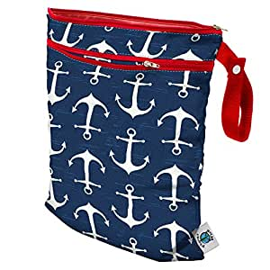 Planet Wise Wet/Dry Diaper Tote Bag, Overboard Twill