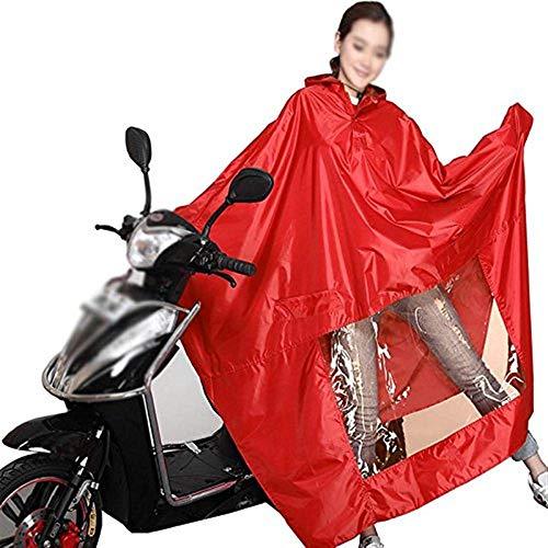 Impermeable La Coche Adulto De 3 20 Solo Del Motocicleta Sombrero Años Eléctrico TqZ4AcrwT