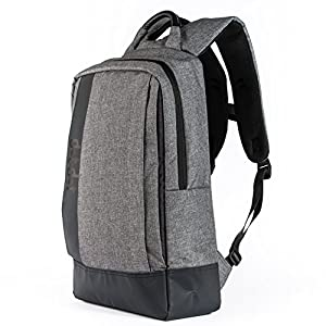 Dot&Dot Slim Travel Laptop Backpack - Protective Water Resistant Padded Bag for School, Work, Business, Hiking, Top Quality and Super Durable Computer Case for Men and Women