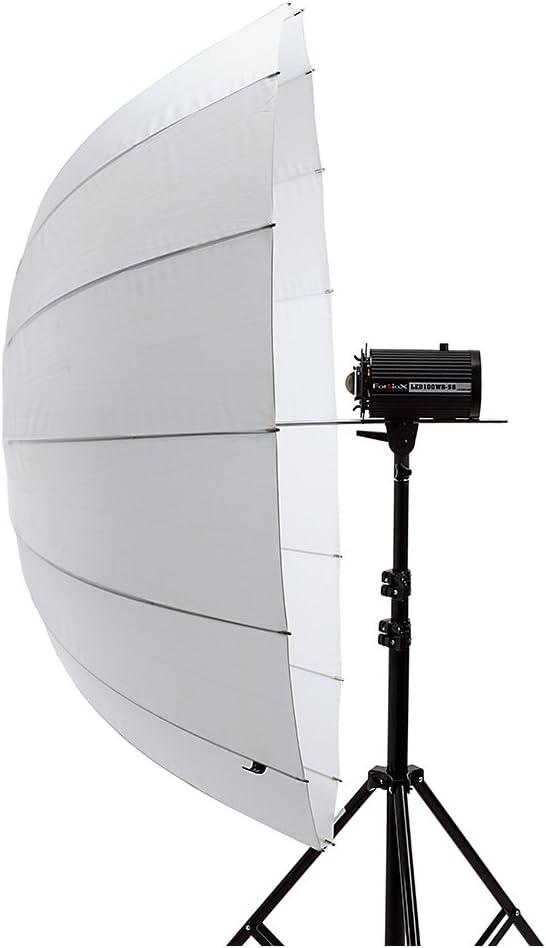 Fotodiox Pro 16-Rib 51 Shoot-Through Neutral White Diffusion Parabolic Umbrella
