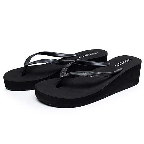42a812bc1d493 Amazon.com: SHANGXIAN Women's Non-Slip Sandals Sandals Wedge Sandal ...