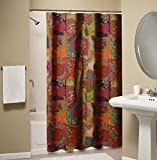 Anthropologie Curtains Greenland Home Jewel Shower Curtain