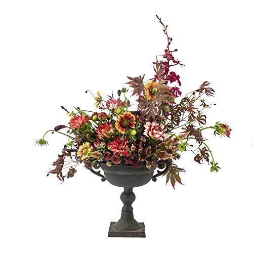 metal urn planter - 8