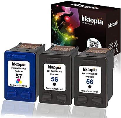 Inktopia - Cartuchos de tinta remanufacturados para HP 56 57 ...