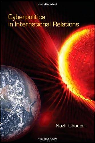 Cyberpolitics in International Relations (The MIT Press): Nazli