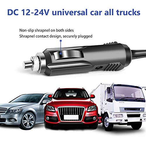 KFD Car Charger DC Adapter for Resmed S10 Series,ResMed Airsense 10 S10 AirCurve 10 Series CPAP and BiPAP Machine,90W Resmed S10 370001 37297 Rockpals 300W/500W Vehicle Power Supply Cord Cable Charger