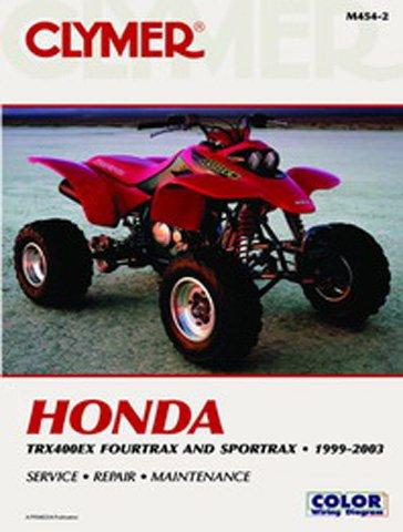 Clymer Honda TRX400EX FourTrax/SportTrax & TRX400X 1999-2013