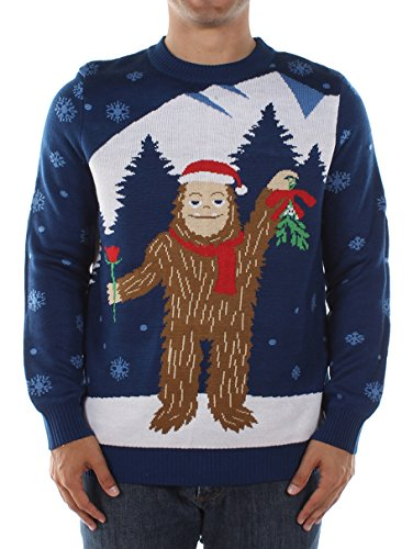 Men's Sasquatch Christmas Sweater