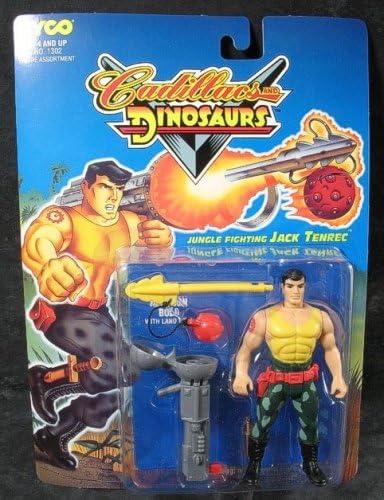 Amazon Com Cadillacs Y Dinosaurios Series 1 Selva Lucha Jack Tenrec Figura De Accion Toys Games Cadillacs and dinosaurs (us 930201). selva lucha jack tenrec figura