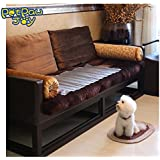 PetPawJoy Scat Mat for Dogs The Dog Scat Mat 60x12 Inches to Keep Pets off Furniture, A Safe Cat Scat Mat, A Dog Shock Mat & Cat Shock Mat, Indoor use Cat Dog Repellent Mat Pet Training Mat