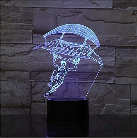 Fortnited Battle Royale Usb 3D Luz De Noche Led Rbg Sensor ...