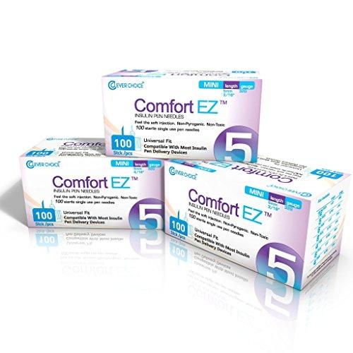 Clever Choice Comfort EZ Pen Needles 32G 5mm (3/16