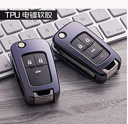 Amazon.com: Carcasa de TPU suave para llave de Chevrolet ...