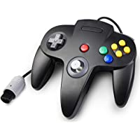 Classic N64 Controller, kiwitatá Retro Wired Controller Gamepad Joystick for Nintendo 64 N64 Console Video Games System…