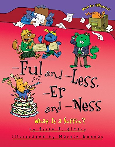 [-Ful and -Less, -Er and -Ness: What Is a Suffix? (Words Are CATegorical ®)] (Common Costumes Ideas)