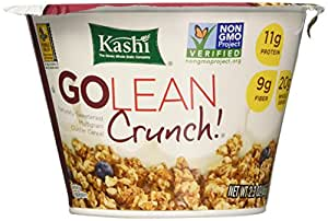 Kashi GOLEAN Crunch! Cereal, 2.3-Ounce Cups (Pack of 12)