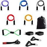 O RLY Fitness Resistance Bands Set Exercise Workout Trainer Straps Set