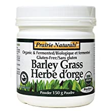 PRAIRIE NATURALS Organic Fermented Barley Grass Powder (150 Gr)