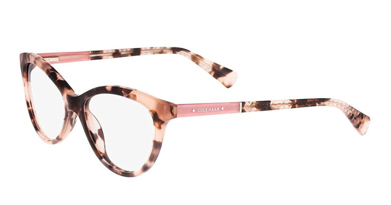 COLE HAAN Eyeglasses CH5000 260 Blush Tortoise 52MM at Amazon Men\'s ...