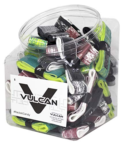 Vulcan 50-Count Tennis Over Grip Jar/Fade Collection