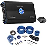 Planet Audio PL3000.1D 3000 Watt Mono Car Audio Amplifier Class-D+Remote+Amp Kit