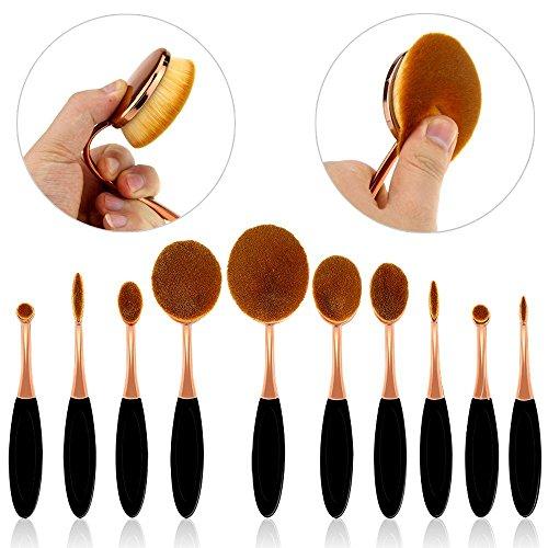 Samtour Toothbrush Foundation Eyeliner Cosmetic product image