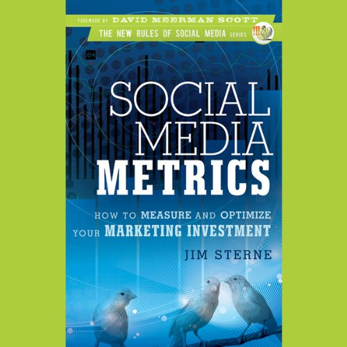 Social Media Metrics: How to Measure and Optimize Your Marketing Investment by Audible Studios