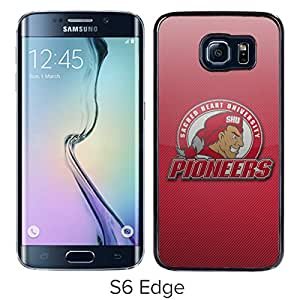 NCAA Sacred Heart Pioneers 5 Black Popular Custom Design Samsung Galaxy S6 Edge G9250 Phone Case
