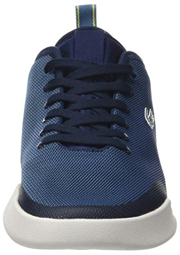 Baskets 118 Nvy Lt Lacoste Dual Homme 1 SPM Bleu Blu XB4Ew