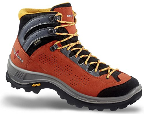 Kayland Shoes Men Hiking Impact GTX orange-Black orange-Black
