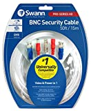 Product review for Swann 15m/50ft BNC 960H/AHD/TVI extension Surveillance Camera Cable, white (SWPRO-15MTVF-GL)