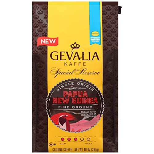 Gevalia Special Reserve Papua New Guinea Fine Ground Coffee (10 oz Bag)