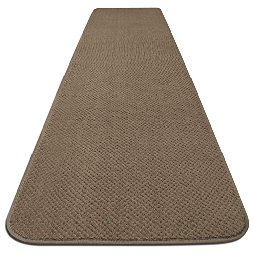 House, Home and More Skid-resistant Carpet Runner - Camel Tan - 6 Ft. X 27 In. - Many Other Sizes to Choose From by House, Home and More