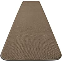 House, Home and More Skid-resistant Carpet Runner - Camel Tan - 6 Ft. X 27 In. - Many Other Sizes to Choose From