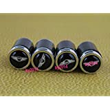 4 x Carbon fiber Genesis Coupe Wheel Tire Valve Stem Air Caps Covers set