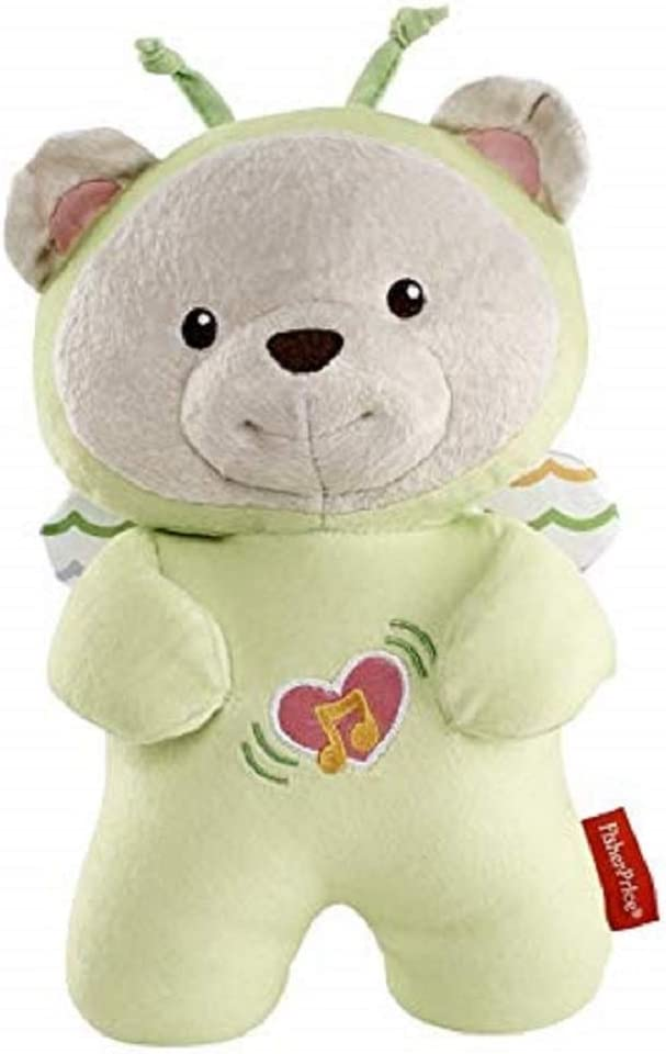 Fisher-Price Osito dulces sueños juguete de cuna para bebé (Mattel DFP20)