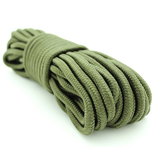 Camping  50' Green Rope (10mm Cord)