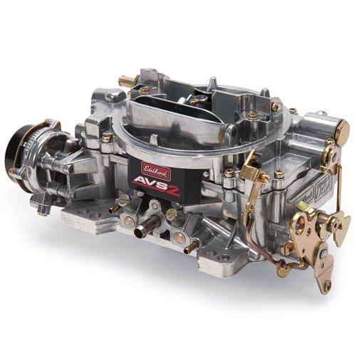 Edelbrock 1906 AVS2 Series Carburetor 650 cfm Square Flange Non-EGR Electric Choke AVS2 Series Carburetor by Edelbrock